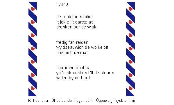 Trije Fryske Haiku – Fan van Friesland