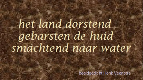 friesland-MAIL+poëzie: FH Dorstend het land