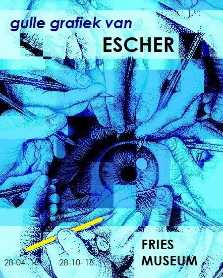 Escher's gulle grafiek -poster
