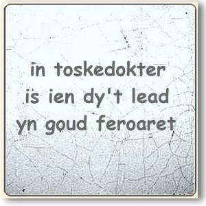 In toskedokter