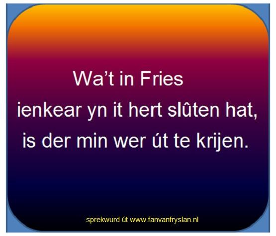 In Fries.